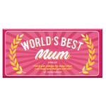 World's Best Mum - Milk Chocolate - Bellaberry