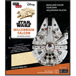 Millennium Falcon | 3D Wooden Model | IncrediBuilds Star Wars