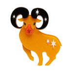 Aries The Achiever Brooch - Erstwilder