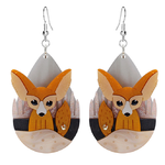 Fennec Fox Earrings - Little Moose