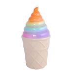 Ice Cream Money Box - Ceramic - Rainbow