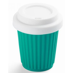 Small Reusable Coffee Cup - Onya - Zero Waste - Aqua