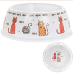 Cat Bowl - Faithful Friends - Melamine