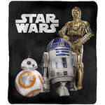 Star Wars Throw Rug - Droids