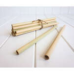 Bamboo Straws - Set of 12 - Eco