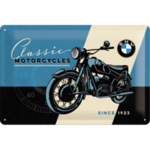 BMW Motorcycle - Tin Sign - Nostalgic Art