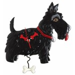 Scottie Dog - Pendulum Clock - Michelle Allen Designs