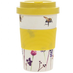 Bamboo Travel Mug - Busy Bees