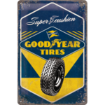 Tin Sign - Good Year Tyres - Nostalgic Art