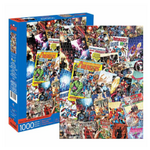 Aquarius Marvel's Avengers Comic Cover Collage 1000 Piece Jigsaw Puzzle
