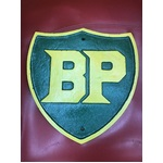 Cast Iron BP Fuel Shield Sign - Heavy