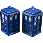 TARDIS Salt & Pepper Shakers - Dr Who