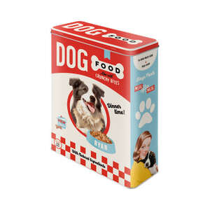 Dog Food Tin - Retro