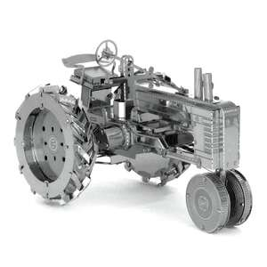Tractor Model Kit - Metal DIY - Laser Cut Puzzle I208