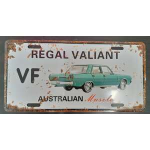 Regal Valiant VF | Australian Muscle Car | Tin Sign