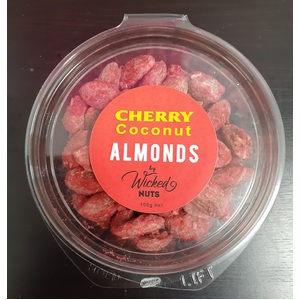Cherry Coconut Almonds - Wicked Nuts - 100g