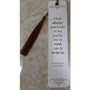 Bookmark - Robert Louis Stevenson Quote - Made in WA