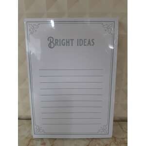Notepad - Bright Ideas - Grey - Made In WA