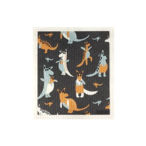 Kangaroo Dish Cloth - Retro Kitchen