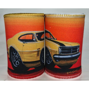 Monaro Yellow - Stubby Holder